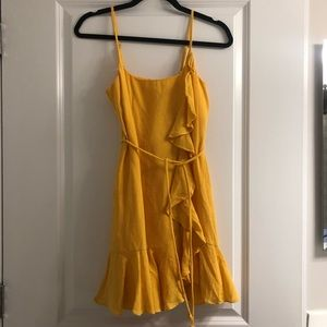 Saints + Secrets yellow sundress